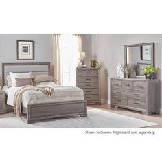 The Furniture Warehouse offers a large selection of home furnishings at affordable prices. Check out our Bedroom Sets inventory. We are serving south west Florida for over 25 years. Grey Bedroom Set, Queen Bedroom, Wood Bedroom, Bedroom Decor, Queen Headboard, King Bedroom Sets, Master Bedroom, Traditional Bedroom Furniture Sets, Contemporary Bedroom