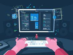Programming by Anton Fritsler (kit8) - Dribbble