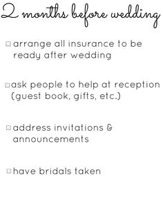 Wedding Planning Checklists  Planning    Wedding