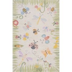 In love with Momeni Lil Mo rugs although I haven't seen them in person since they are only on line.