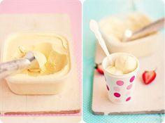 Homemade Vanilla Bean Ice Cream. #icecream