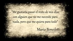 Frases célebres Mario Benedetti - La Pluma y el Libro