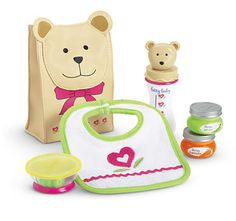 Bitty Baby Snack Time Set