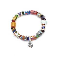 Fair Trade African trade bead bracelet handmade in Kenya available at Alternatives Global Marketplace