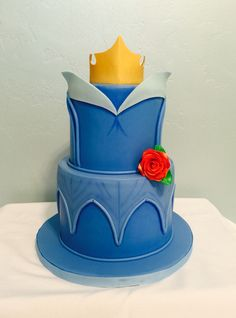 Sleeping beauty cake More