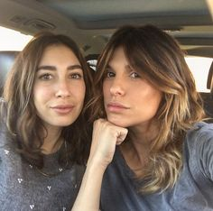 Elisabetta Canalis Hair Color Cut by Aldo Coppola
