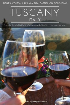 Travel guide to visit Tuscany, Italy: Sample itinerary, advice, and recommendations from real travelers. Visit Terre di Nano, Castiglion Fiorentino, La Pievuccia, Cortona, Perugia, Perugina Chocolate Factory, Pisa & learn about local restaurants and the best place to stay. | wornpassports.com