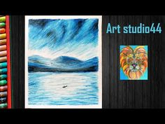 Mountain landscape Drawing with oil pastels for kids -step by step-Beginners-Easy oil pastel - YouTube Mountain Landscape Drawing, Landscape Drawings, Oil Pastel Drawings, Oil Pastels, Easy, Youtube, Kids, Painting, Young Children