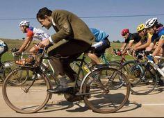 Si!   Se puede ir al trabajo en bicicleta!!!