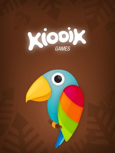 Playful Parrot wallpaper from #Memollow iOS Game for your #iPad & #iPhone