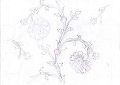 Textile Patterns, Embroidery Patterns, Pattern Art, Pattern Design, Line Artwork, Pencil Design, Art Sketches, Wallpaper Backgrounds, Tapestry