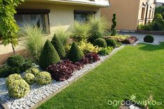 Tips For Organic Gardening Rock Garden Design, Backyard Garden Design, Garden Landscape Design, Side Garden, Garden Edging, Garden Planters, Outdoor Landscaping, Front Yard Landscaping, Evergreen Garden