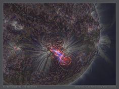 Llamarada solar de un Sol más nítido