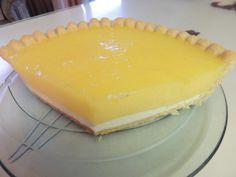 lemon-Kirschwasser cream Cheese Pie