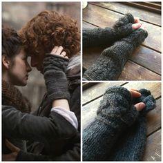 Outlander Inspired Claire's Fingerless Gloves by fall4handmade