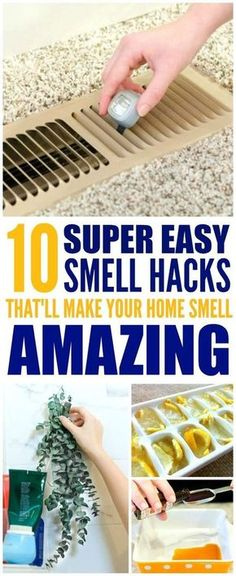 home hacks These 10 easy ways to make your home smell good and fresh are THE BEST! Im so glad I found these GREAT tips! Now I have a great way to make my home smell great with these smell hacks! House Cleaning Tips, Diy Cleaning Products, Spring Cleaning, Cleaning Hacks, Deep Cleaning, Cleaning Supplies, Cleaning Lists, Diy Home Cleaning, Cleaning Schedules