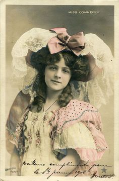 Actress Miss Connerly