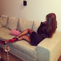 Girly Luxury Lifestyle | ... luxury bag body pink outfit high heels fit chanel wine girly things