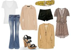 ingredients for the perfect spring wardrobe #fashion