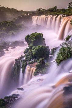 Waterfalls Love — Gorgeous! nature love