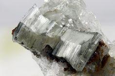 Weloganite,Sr3Na2Zr(CO3)6•3(H2O),  Francon quarry, St. Michel District, Montréal, Jacques Cartier Co., Québec, Canada