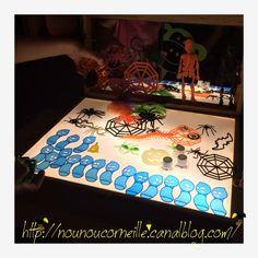 Table lumineuse Spéciale Halloween