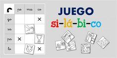 Juegos silábicos con palabras bisílabas