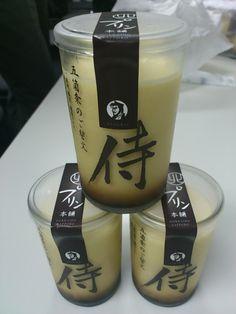SAMURAI Purin, Japan's Custrard Pudding (Sapporo Samurai Factory)|侍プリン