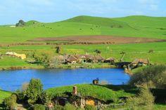 Vila dos Hobits - Nova Zelândia - Quem nunca sonhou em visitar a famosa vila dos Hobbits? Poucos sabem, mas ela existe e fica na Nova Zelândia