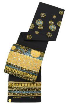 龍村美術織物 たつむら・傑作西陣本袋帯「螺鈿段文錦」