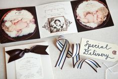 What beautiful birth announcements!