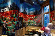 Pixel bar in Brussels