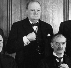 """Neville Chamberlain and Winston Churchill  Reversal of fortunes  In the autumn of 1938, Neville Chamberlain waved from the balcony of Buckingham Palace to the huge crowd cheering him for bringing back """"peace in our time"""" from his Munich negotiation with Hitler. Winston Churchill, denounced by Chamberlain and his cronies as a warmonger and alarmist, looked washed up. But, by the spring of 1940, Chamberlain had been toppled and a vindicated Churchill was prime minister, rallying his nation as…"""