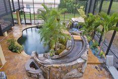 Tropical home design with mini pool (95) #modernpoolbig