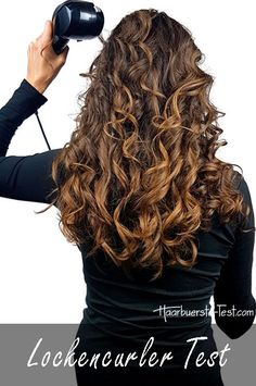 Finde die besten Curler ... Praxis Test, Babyliss Curl Secret, Curlers, Dyed Hair, Dreadlocks, Curly Hair Styles, Beauty, Updos, Dance