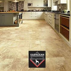Karndean / Amtico - Taurus Flooring is a one stop flooring specialist for all aspects of laminate and wooden flooring, call us for quality flooring in Southampton or Hampshire. Kitchen Cabinets Decor, Cabinet Decor, Kitchen Tiles, Kitchen Flooring, New Kitchen, Kitchen Design, Karndean Design Flooring, Karndean Flooring, Hampshire