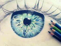 I wish my drawings of eyes looked like that lol