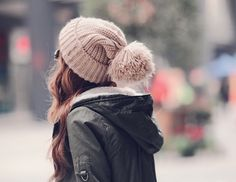 pom pom beanie #beanies #knitted #hats