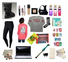 """""""What I got for Christmas 2016🎄❤️❄️"""" by foreverandalwaysemily22 on Polyvore featuring UGG Australia, NIKE, Maybelline, Rimmel, Ralph Lauren, Toshiba and Bed Head by TIGI"""