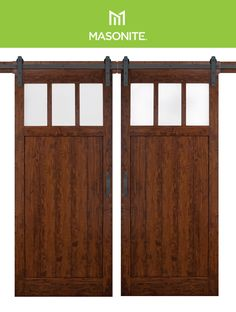Feeling inspired? Instantly transform your bedroom with an easy to install Masonite Barn Door Kit. Bedroom Products, Door Kits, Diy Barn Door, Interior Barn Doors, Inspired, Easy, Inspiration, Furniture, Home Decor