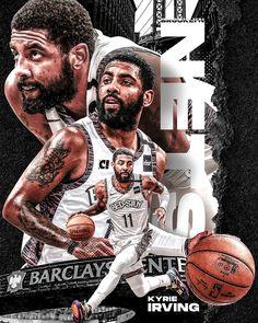 Sports Graphics pt. 2 on Behance Irving Wallpapers, Nba Wallpapers, Basketball Art, Basketball Players, Basketball Videos, Soccer, Nba Standings, Nba League Pass, Nba Scores