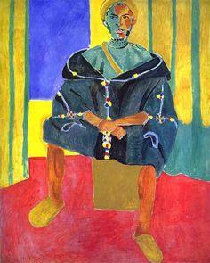 Le Rifain asistencia, óleo de Henri Matisse (1869-1954, France)