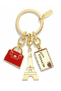 París coach keychains