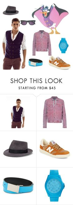 """""""Darkwing Duck"""" by missmygreenhair ❤ liked on Polyvore featuring Silk & Cashmere, Y/Project, rag & bone, New Balance, Calvin Klein, FOSSIL, Tom Ford, men's fashion and menswear"""