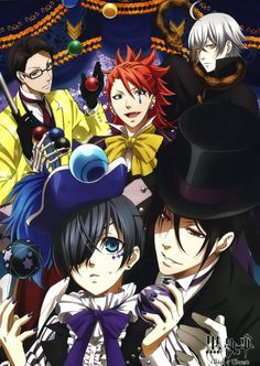 Black Butler Kuroshitsuji III Book of Circus DVD - eps :1-10 end(English sub) {I NEED TO SEE THIS! Description from pinterest.com. I searched for this on bing.com/images