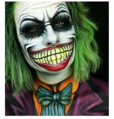 Joker make up