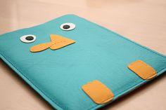 Næbdyret Perry iPad Sleeve