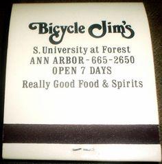 Bicycle Jim's, S. University at