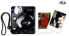 Fujifilm Instax Mini50s Cheki costing $220   This camera specializes in producing mini pictures which is idea for using when out on the go as well as having the functional features of  a close up camera lens and auto flash.
