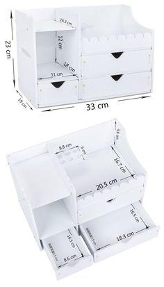 Pvc plástico requintado cosméticos organizador caixa clara de cuidados da pele de armazenamento titular multifunções caixa de maquiagem com espelho em Ciaxas de armazenamento & lixo de Casa & jardim no AliExpress.com   Alibaba Group